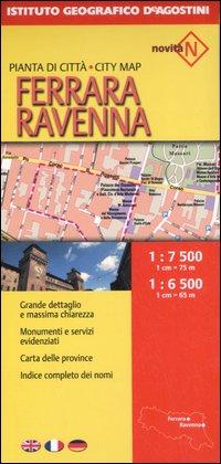 Ferrara e Ravenna. Pianta di città 1:7.500/1:6.500