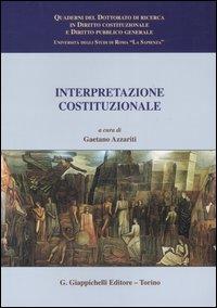 Interpretazione costituzionale