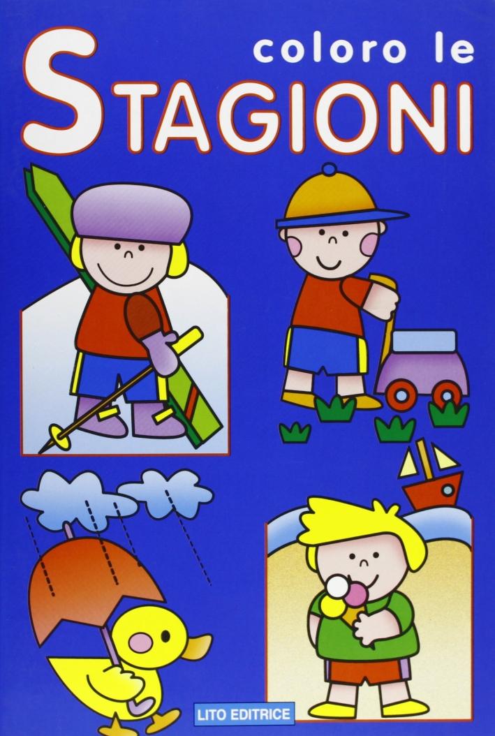 Colora le stagioni. Ediz. illustrata