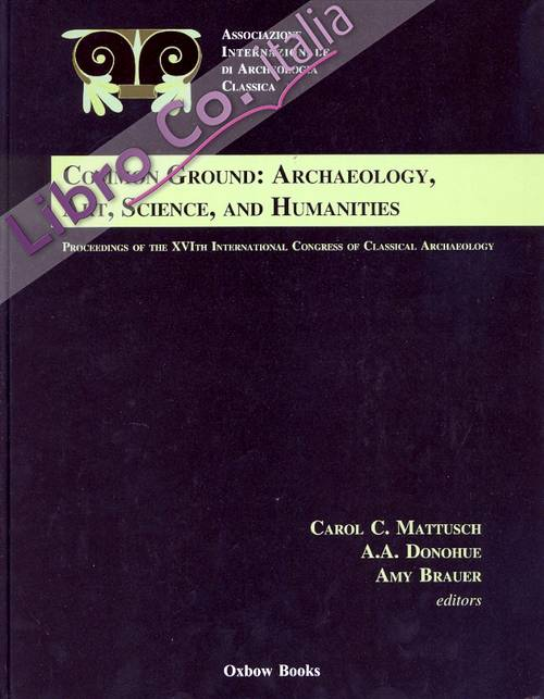 Proceedings of the XVI International Congress of Classical Archaeology. Common Ground: Archaeology, Art, Science, and Humanities