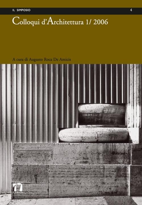 Colloqui d'Architettura. 1/2006
