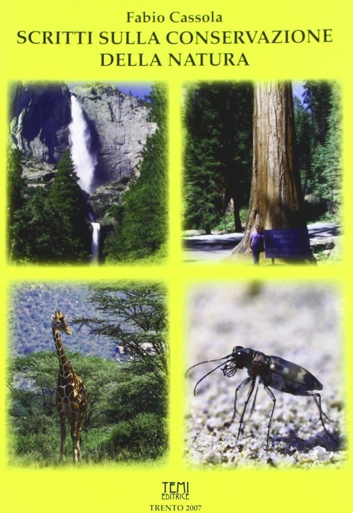 Scritti sulla conservazione della natura