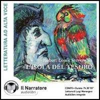 L'isola del tesoro. Audiolibro. CD Audio formato MP3. [Edizione Integrale]