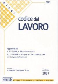 Codice del Lavoro.