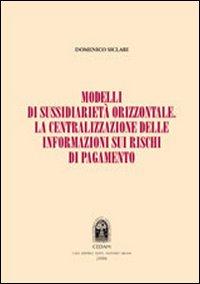 Modelli di sussidiarietà orizzontale. La centralizzazione delle informazioni sui rischi di pagamento