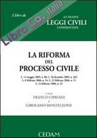 La riforma del processo civile