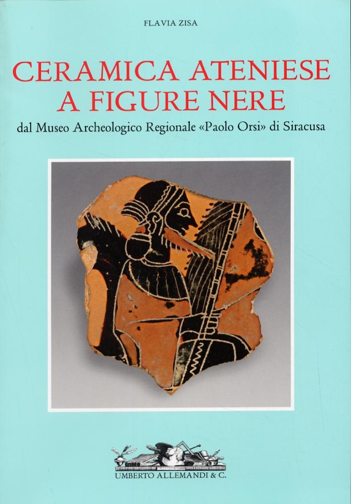 Ceramica ateniese a figure nere. Museo Archeologico Regionale