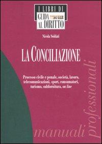 La conciliazione. Processo civile e penale, società, lavoro, telecomunicazioni, sport, consumatori, turismo, subfornitura, on line.