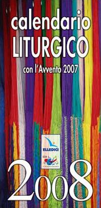 Calendario liturgico 2008.
