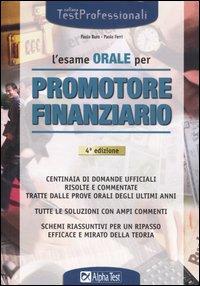 L'esame orale per promotore finanziario.