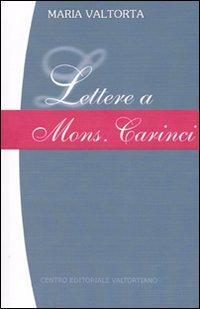 Lettere a Mons. Carinci.