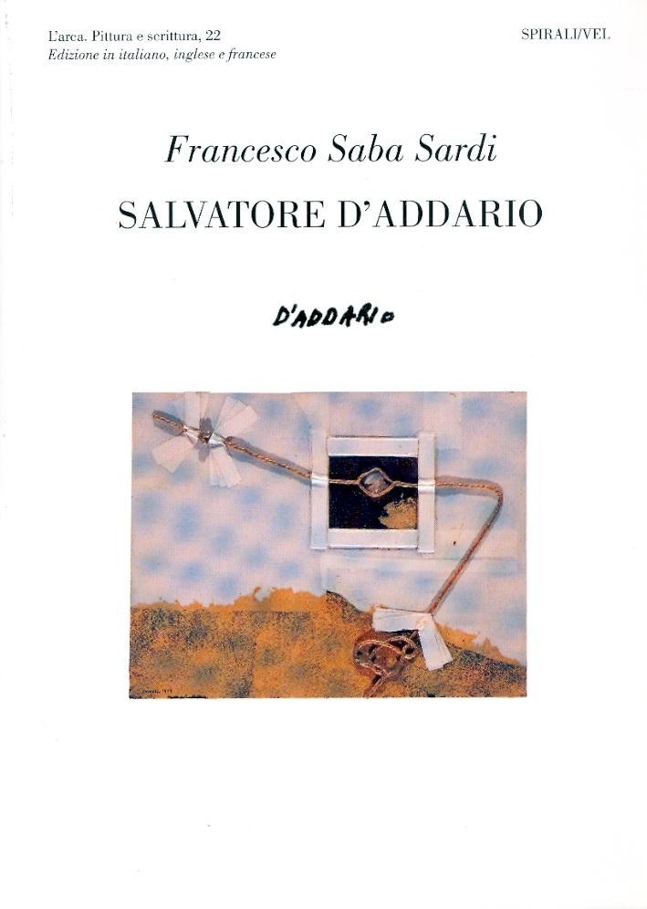 Giambattista Tiepolo, Salvatore D'Addario.