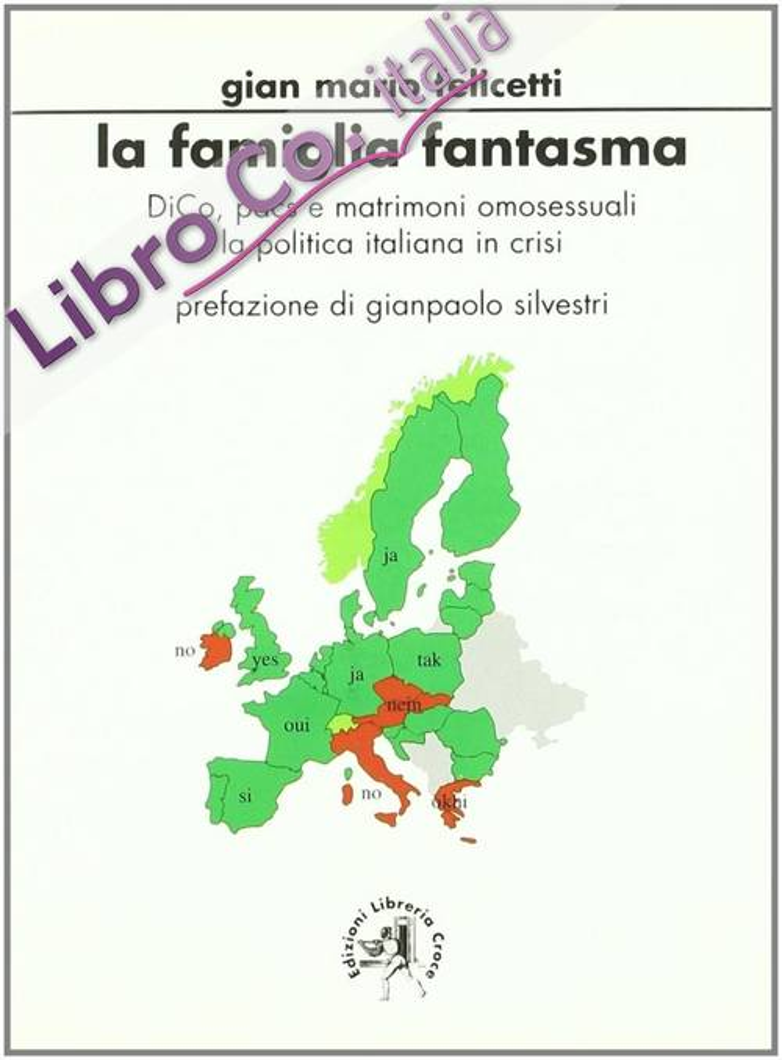La famiglia fantasma. DICO, PACS e matrimoni omosessuali. La politica italiana in crisi.