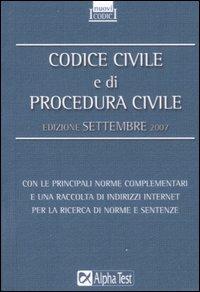 Codice civile e di procedura civile.