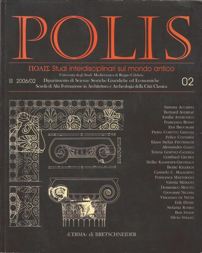 Polis. Studi Interdisciplinari sul Mondo Antico. Vol. 2