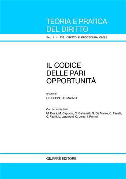 Il codice delle pari opportunità