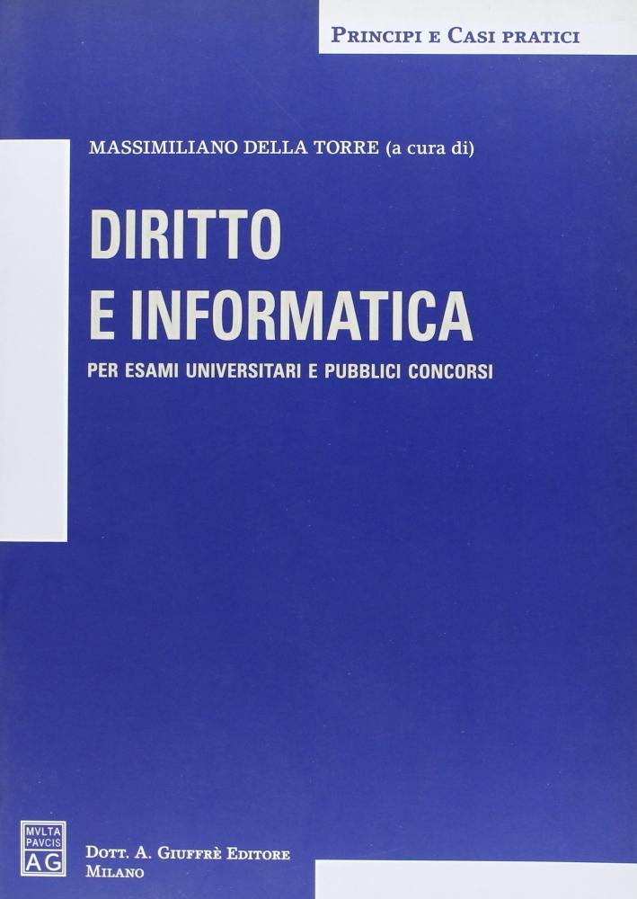 Diritto e informatica