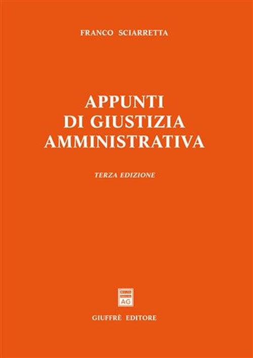 Appunti di giustizia amministrativa