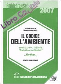 Il codice dell'ambiente. Con CD-ROM