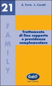 Trattamento di fine rapporto e previdenza complementare