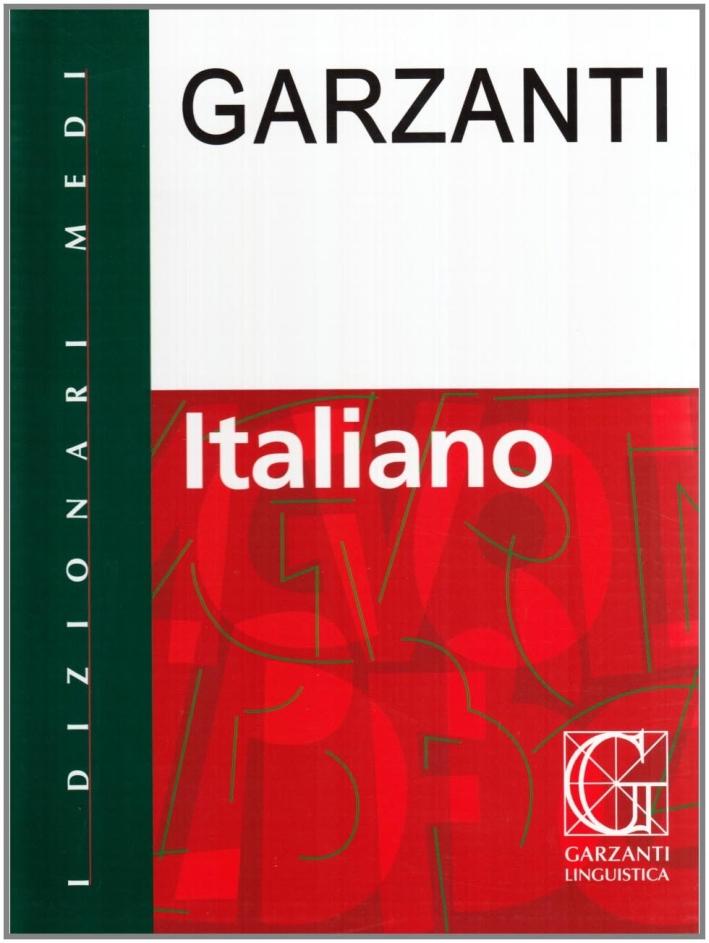 Dizionario italiano Garzanti.