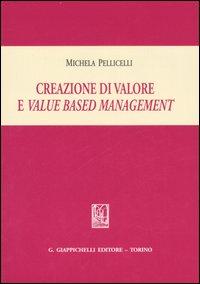 Creazione di valore e value based management.