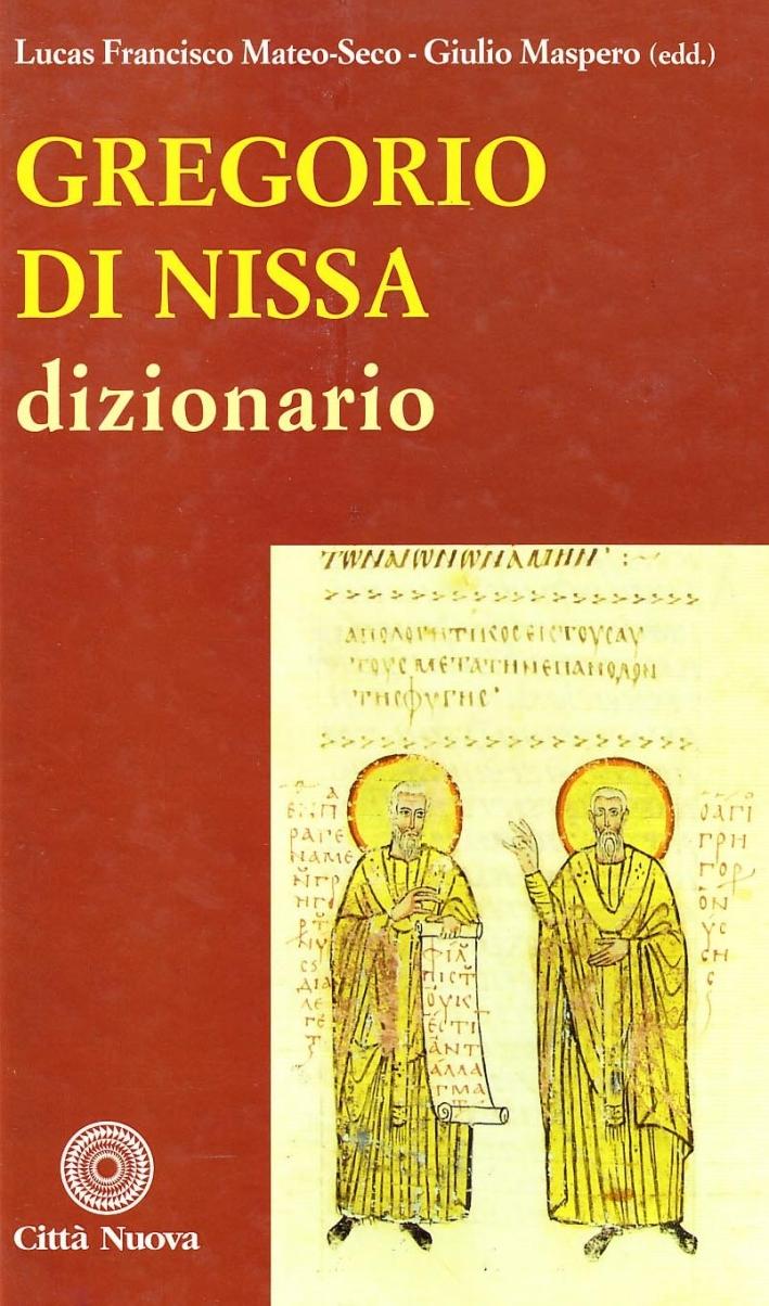 Gregorio di Nissa. Dizionario