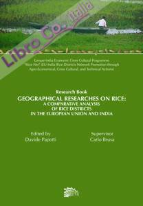 Geographical researches on rice. A comparative analysis of rice districts in European Union and India
