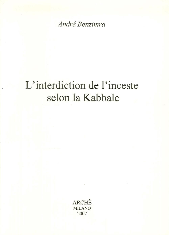 L'interdiction de l'inceste selon la kabbale