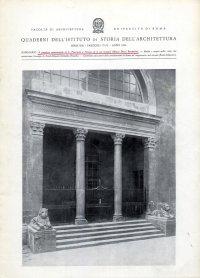 Quaderni dell'Istituto di Storia dell'Architettura. Serie XIII. Fascicoli 73-78. Anno 1966.