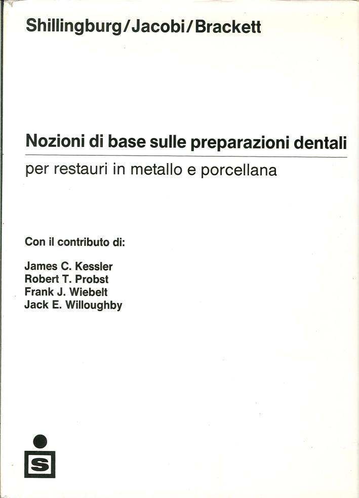 Nozioni di Base sulle Preparazioni Dentali per Restauri in Metallo e Porcellana