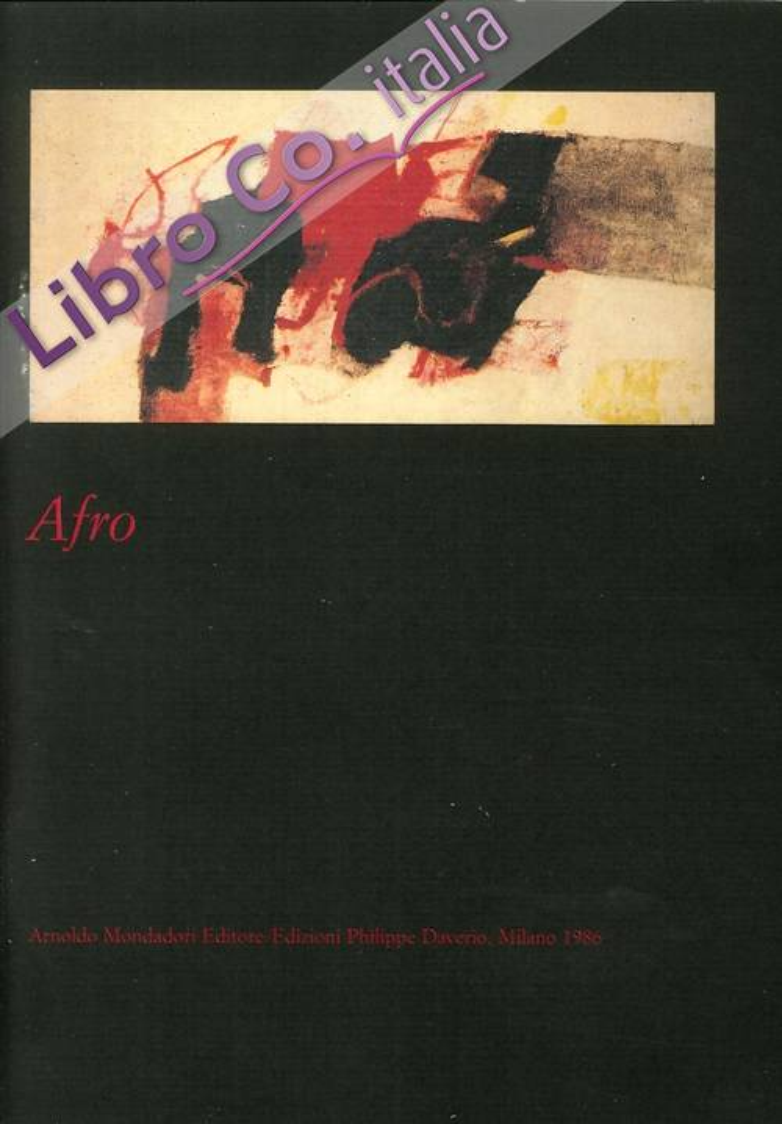 Afro. Catalogo della Mostra.