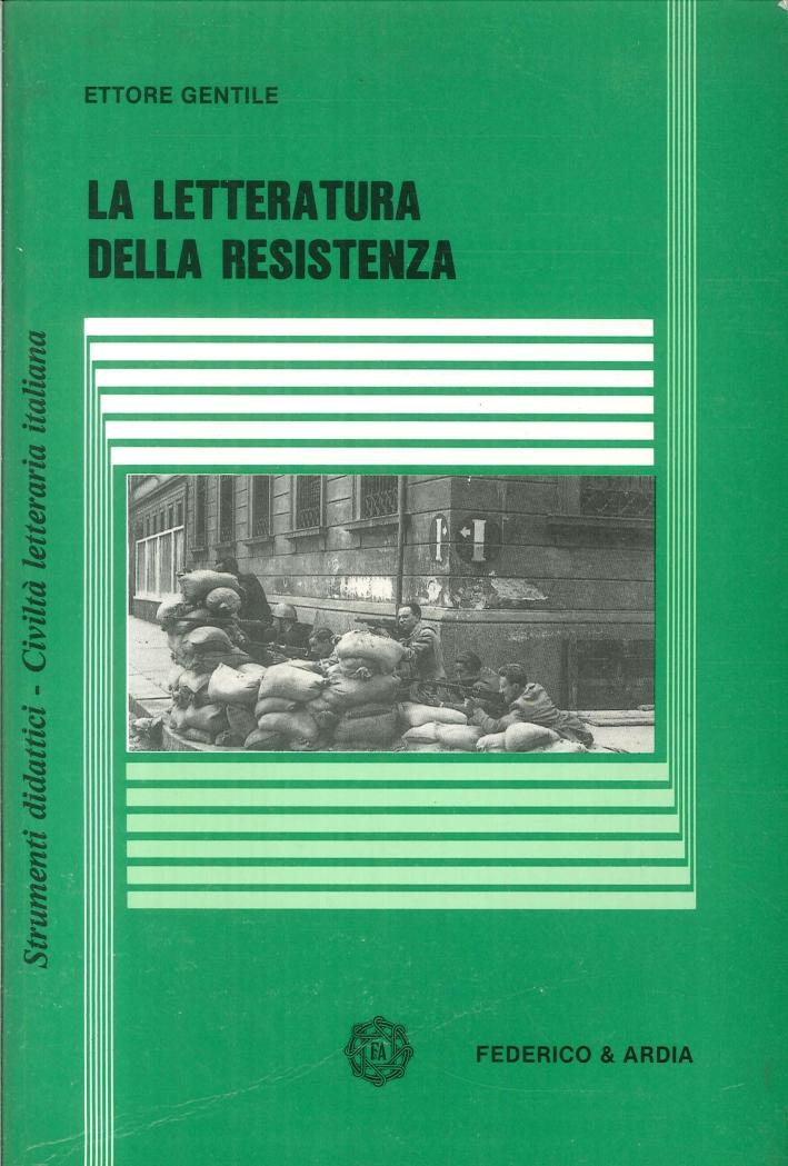 La letteratura della resistenza