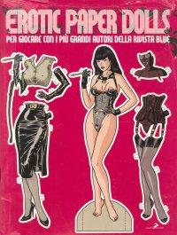 Erotic Paper Dolls. Per giocare con i più grandi autori della rivista Blue.