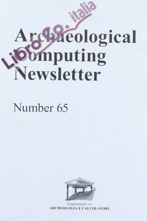 Archaeological computing newsletter. Vol. 65