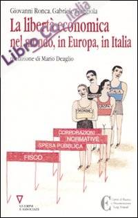 La libertà economica nel mondo, in Europa, in Italia
