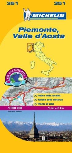 Piemonte, Valle d'Aosta 1:200.000.