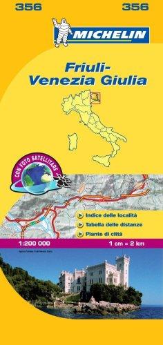 Friuli-Venezia Giulia 1:200.000