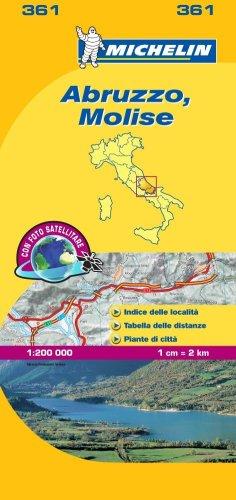 Abruzzo, Molise 1:200.000.