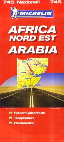 Africa nord-est, Arabia 1:4.000.000.