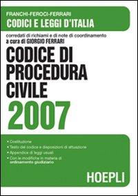 Codice di procedura civile 2007