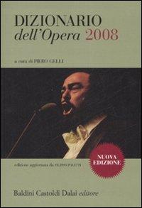 Dizionario dell'opera 2008