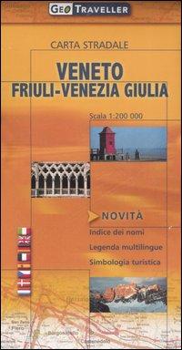 Veneto e Friuli-Venezia Giulia. Carta stradale 1:200.000