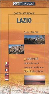 Lazio. Carta stradale 1:200.000