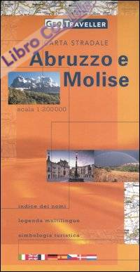 Abruzzo e Molise. Carta stradale 1:200.000
