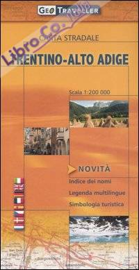 Trentino-Alto Adige. Carta stradale 1:200.000