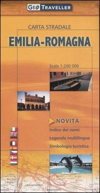 Emilia-Romagna. Carta stradale 1:200.000