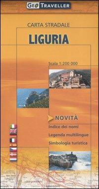 Liguria. Carta stradale 1:200.000.