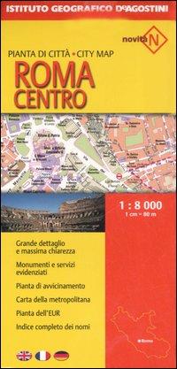 Roma centro 1:8.000.