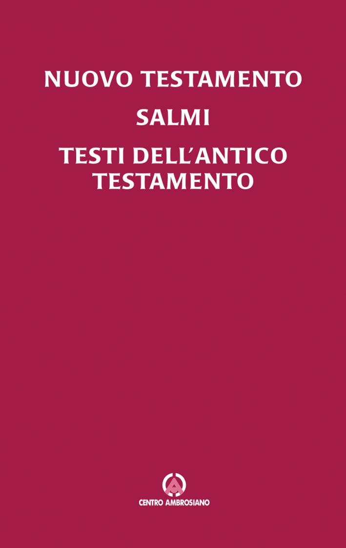 Nuovo Testamento, Salmi, testi dell'Antico Testamento. Leggere la Bibbia in famiglia.